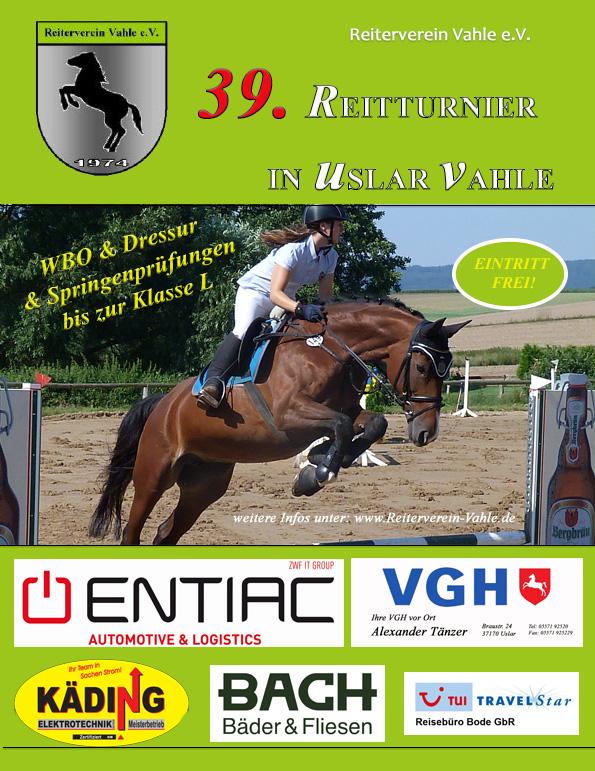 2016 RVV Turnier Plakat